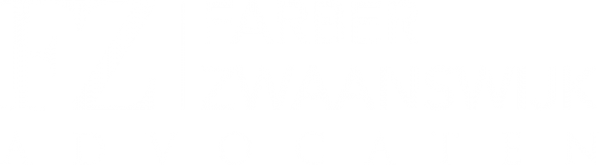 Logo fz advocaten wit